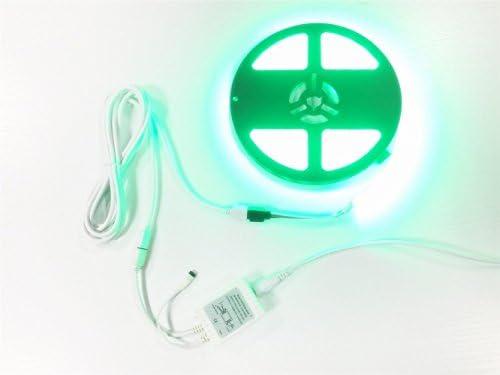 LitaElek 2x 5m Cavo di prolunga a Striscia LED RGB 4pin Connettore a nastro RGB LED per RGB 5050 3528 2835 LED Strip con 4x spina maschio a maschio da 4 pin 5m, 2pcs