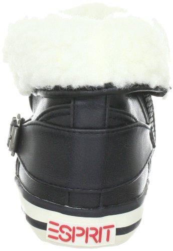 ESPRIT Benny Fur High Top H12760 Mädchen Sneaker Schwarz