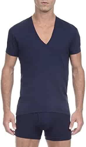 2(X)ist Men's Pima Slim-Fit Deep V-Neck T-Shirt