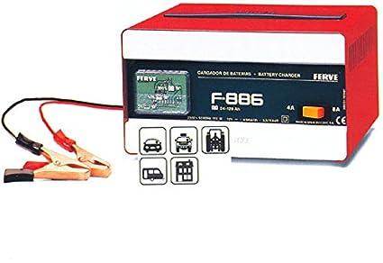 FERVE - Cargador Bateria 24-95 Ah - 12 V: Amazon.es ...