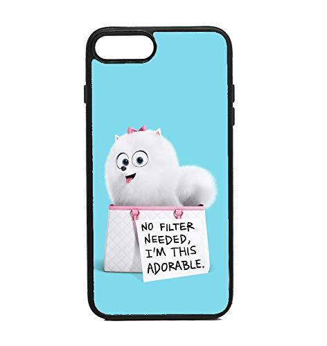 brand new e11e1 a5819 Amazon.com: Phone Case Secret Life of Pets Gidget for iPhone 7 Plus ...