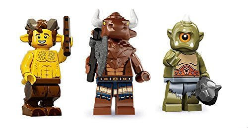 Lego Fawn, Minotaur, Cyclops Minifigures Fantasy Minifigures