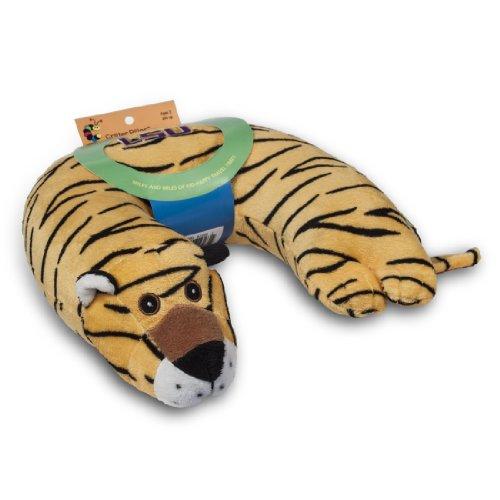 Louisiana State Tigers Pillow (Critter Piller NCAA Kid's Travel Neck Pillow, Louisiana State Fightin Tigers Tiger)