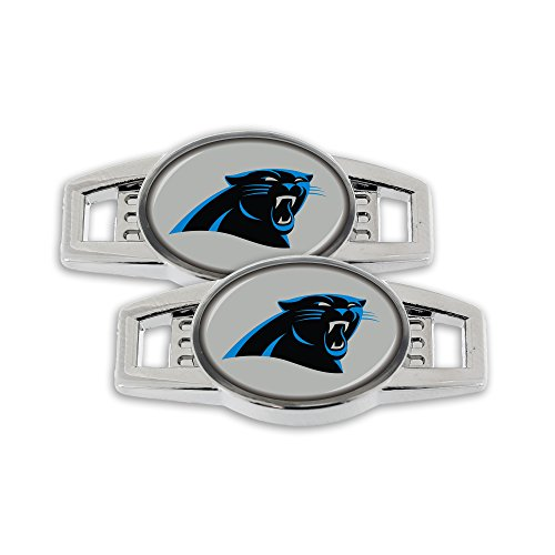 NFL Carolina Panthers Shoe Charm, 2-Pack ()