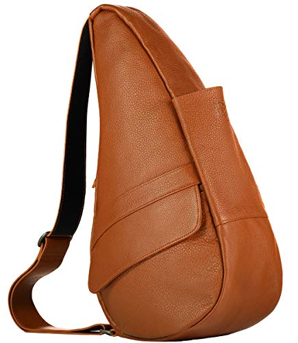 AmeriBag Classic Healthy Back Bag tote Leather Extra Small (Caramel)