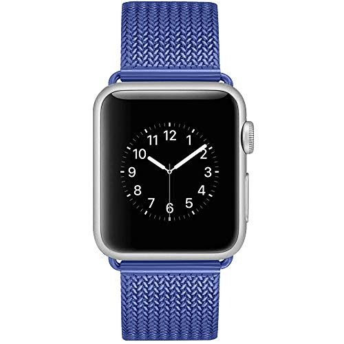 Bandx Milanese Loop Replacement Band Compatible with Watch 38mm 42mm,Stainless Steel Mesh Band with Magnetic Closure for Series 3 Series 2 Series 1
