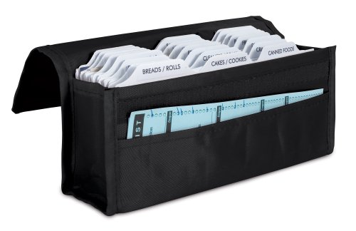 Expandable Coupon Organizer - Black