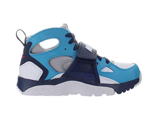 Nike Bambini Allenatore Huarache (gs) Scarpa Da Allenamento Blu Legione / Bianco-lupo Grigio-metà Della Marina