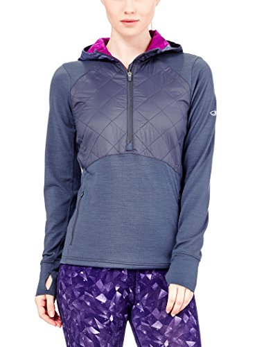 Icebreaker Merino Womens Ellipse Long Sleeve Half Zip Hood  Gumtree Vivid  Small