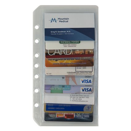 Classic Business Cards - Classic Business/Credit Card Holder Two-Pack