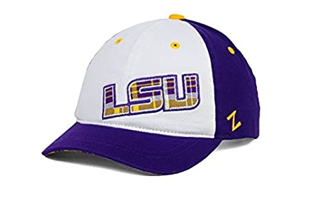 Amazon.com   LSU Tigers Zephyr NCAA Women s Washed Plaid Cap ... 945d6b2553