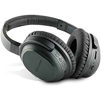 38b40c87f32 Golzer BANC-50 Bluetooth 4.1 High Fidelity Active Noise Cancelling Wireless  OverEar Headphones with apt-x