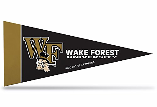Zipperstop 1 Officially Licensed Wake Forest NCAA Mini Pennant, 4