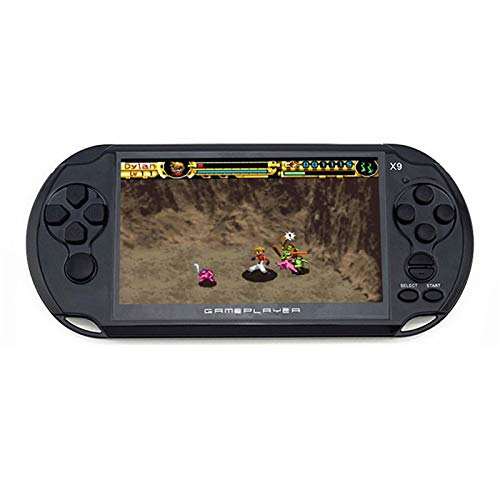 PSP Game Console Nostalgic X9 Rechargeable FC Handheld Game Console...