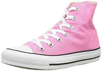 Converse Mens Chuck Taylor High Top Sneaker Pink 8.5 M