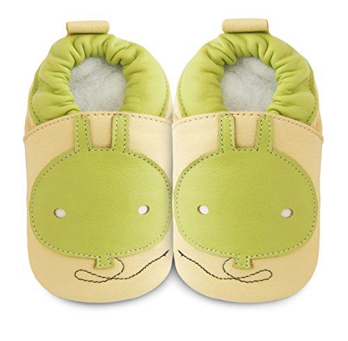 ShooShoos - Zapatos primeros pasos para niña verde verde