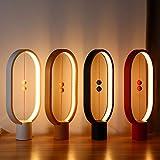 Gold Happy Lightme Heng Balance Lamp LED Night Light Indoor Decoration ABS Material Lovely Desk Light 48pcs LEDs Brightness Night Light