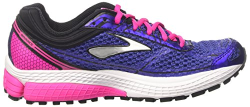 Brooks Women's Aduro 4 Running Shoes, Pink, 5 Blue (Spectrumblue/Pinkglo/Black 487)