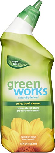 Green Works Toilet Bowl Cleaner, Toilet Gel Cleaner - 24 Ounces