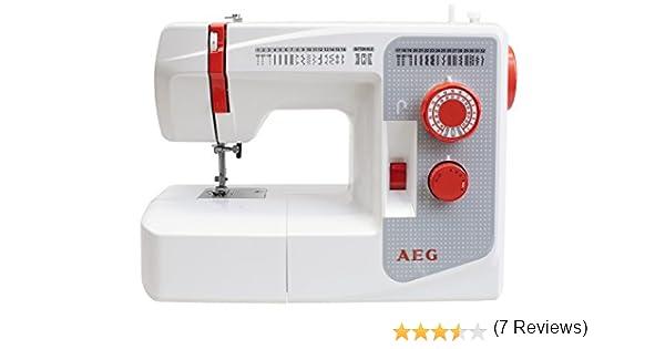 AEG AEG-3200 Máquina de Coser, plástico/Metal, Multicolor, 39 x ...