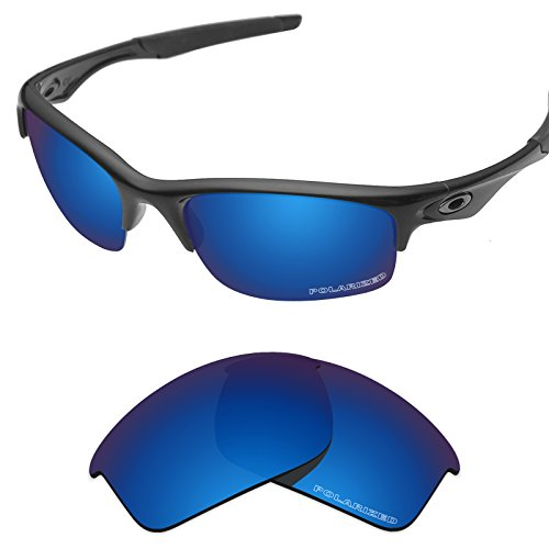 Tintart Performance Replacement Lenses for Oakley Bottle Rocket Sunglass Polarized Etched-Sapphire Blue - 1 Mens Rocket