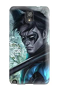 New Nightwing Tpu Case Cover, Anti-scratch JeremyRussellVargas Phone Case For Galaxy Note 3