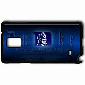 Personalized Samsung Note 4 Cell phone Case/Cover Skin 15174 Duke by ghpseattle Black by supermalls