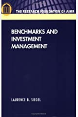 Benchmarks and Investment Management Paperback