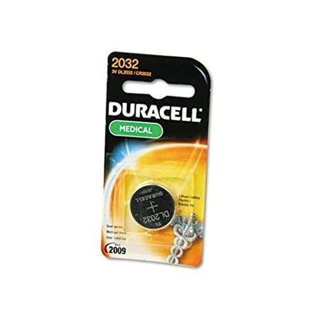 Amazon.com: Duracell Batería de litio (3 V, DL2032 1 Ea ...
