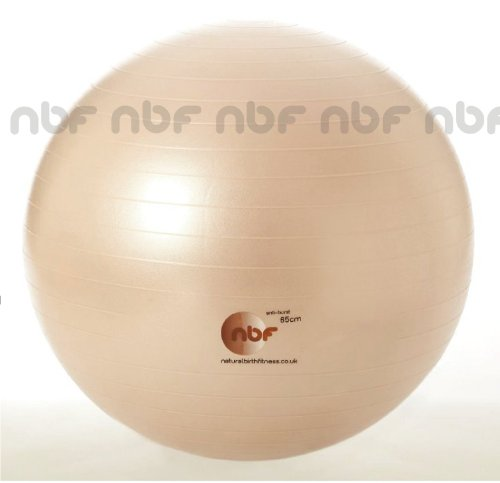 -[ Natural Birth & Fitness Birthing Ball & Pump - NBF Anti-Burst Birth Ball with Instructio