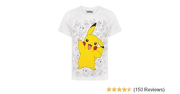 Pokemon Pikachu Wave Boys T-Shirt