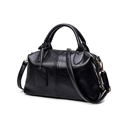 Boston Bag Black Handbag - 8