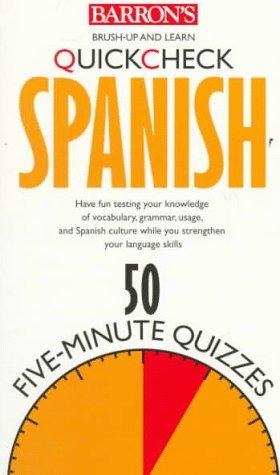 Quickcheck Spanish (Barron's Quickcheck Language Series) (English, Spanish and Spanish Edition)