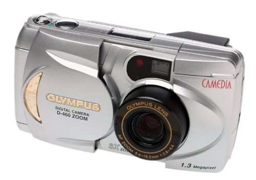 Olympus D-460 1.3MP Digital Camera w/ 3x Optical Zoom