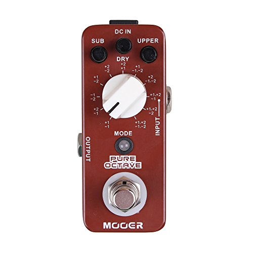 MOOER Pure Octave Precise polyphonic octave effects with no distorted sound by MOOER