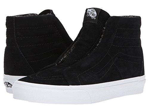 ドナウ川行列アミューズ(バンズ) VANS メンズスニーカー?靴 SK8-Hi Reissue Laceless HG (Suede) Fleece/Black Men's 5, Women's 6.5 (23cm(レディース23.5cm)) Medium