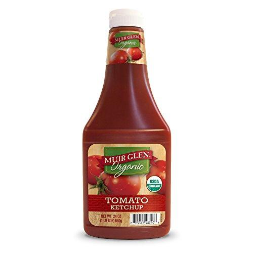 Muir Glen Organic Tomato Ketchup, 24-Ounce Plastic Bottles (Pack of