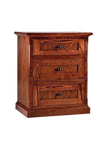 Mission Oak Oak Dresser - Forest Designs Mission Oak Three Drawer Nightstand (No Bed or Dresser), 25