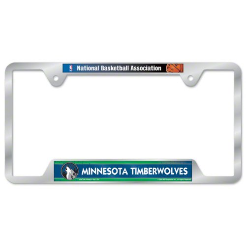 NBA Minnesota Timberwolves Metal License Plate Frame by WinCraft