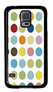 Samsung Galaxy S5 brand new covers Polkadots PC Black Custom Samsung Galaxy S5 Case Cover