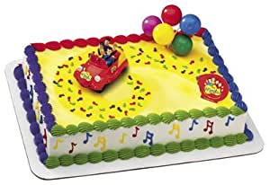 The Wiggles Car Cake Topper Kit: Amazon.ca: Home & Kitchen