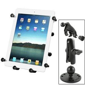 RAM Mount Universal X-Grip III Large Tablet Holder - Fits New iPad - Includes Yoke - Ram Yoke