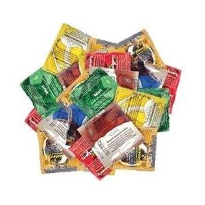 Trustex Assorted Colors Flavored Condoms - 24pk