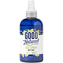 Good Natured Brand All-Natural Eco-friendly Bug Spray Deet-Free, Pleasant Scent, Non-oily, Pet and Child Safe 8 fl. oz.