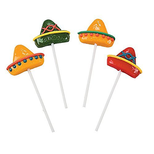 Sombrero Suckers - Candy & Suckers & Lollipops