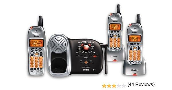 Uniden DCT648 – 3 2.4 GHz Digital Ampliable teléfono inalámbrico con 3 terminales y Sistema de contestador Digital: Amazon.es: Electrónica