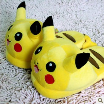 POKEMON-PIKACHU-PANTUFLAS-ZAPATILLAS-SLIPPERS-POKEMON-28cm11