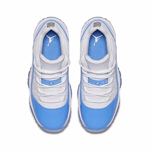 huge selection of 864ae b3dfe Jordan Retro 11 Low University Blue White University Blue (Big Kid) (3.5 ...