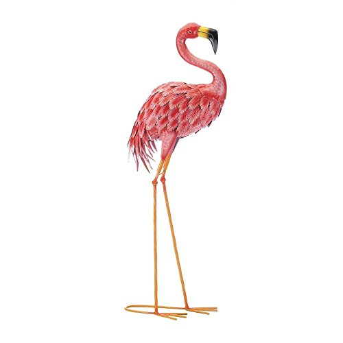 Zings & Thingz 57074223 Lovely Garden Flamingo, Pink