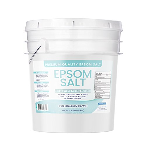 Epsom Salt, Magnesium Sulfate, Soaking Solution, All-natural, Highest Quality & Purity, Usp Grade, R